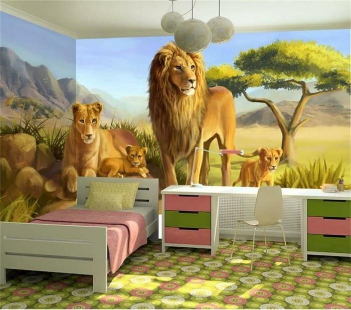 das kindezimmer in jungle verwandeln