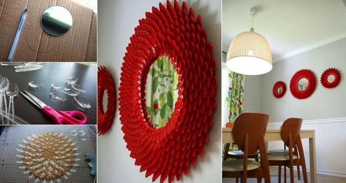 deko-ideen-selbermachen-spiegelrahmen-deko-diy