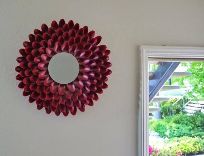 deko-ideen-selbermachen-wandspiegel-spiegelrahmen