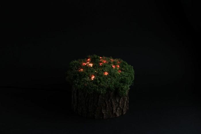moderne leuchten aus kristallen und moos stellen wunderliche mini welten dar. Black Bedroom Furniture Sets. Home Design Ideas