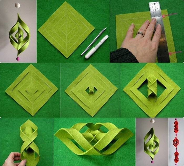 diy deko ideen aus stoff deko stoff dekorrieren mit filz stoff ideen dekoration