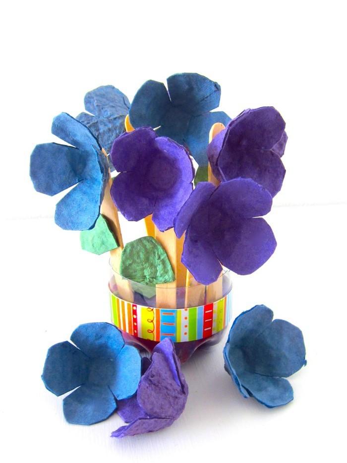 diy deko ideen aus stoff deko stoff dekorrieren mit filz stoff ideen kornblume