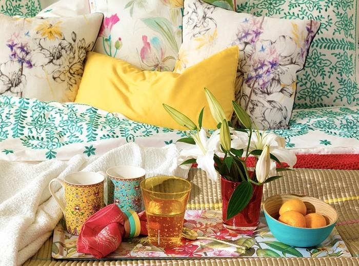 diy deko ideen aus stoff deko stoff dekorrieren mit filz stoff ideendeko bunte stoffe