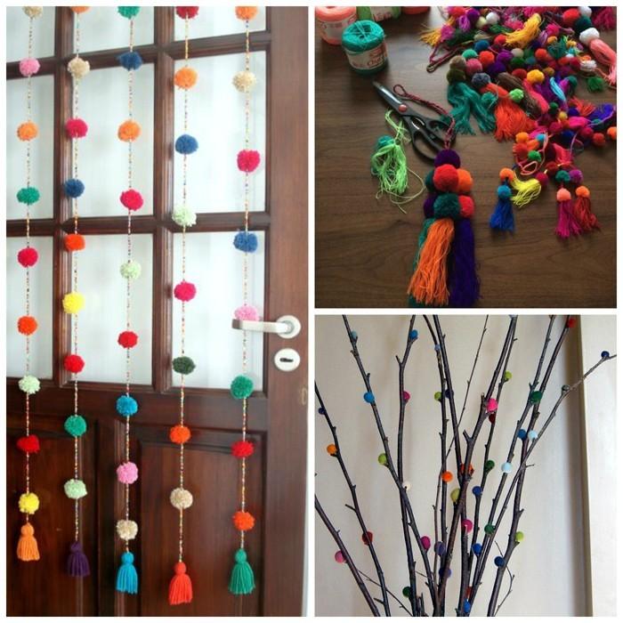 diy deko ideen aus stoff deko stoff dekorrieren mit filz stoff ideendeko farbgestaltung