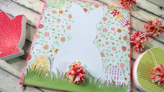 diy deko ideen aus stoff deko stoff dekorrieren mit filz stoff ideendeko frühlingsstimmung