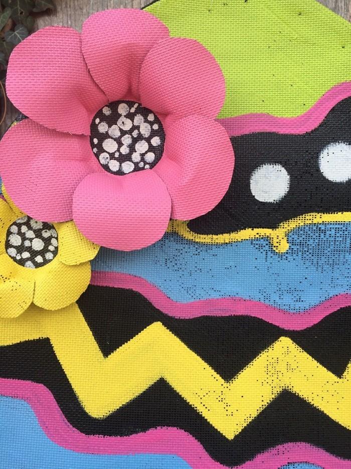diy deko ideen aus stoff deko stoff dekorrieren mit filz stoff ideendeko riesen blumen