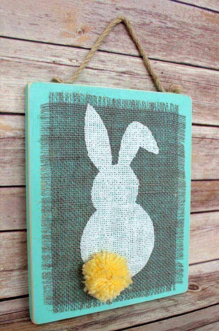 diy deko ideen aus stoff deko stoff dekorrieren mit filz stoff ideendeko türdekoration