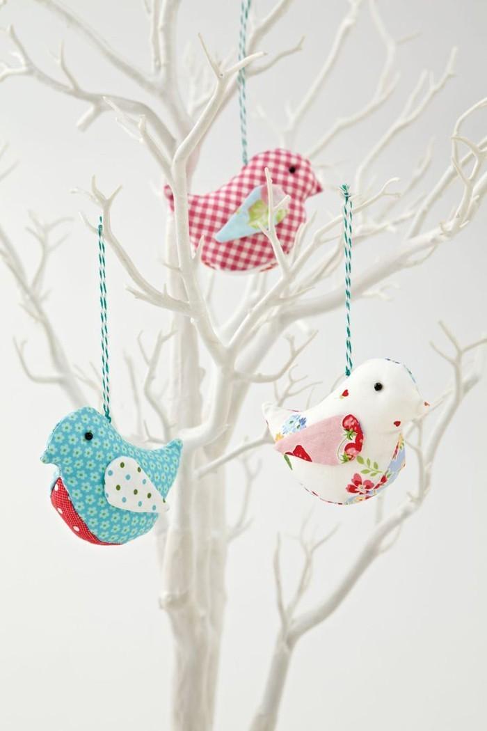 diy deko ideen aus stoff deko stoff dekorrieren mit filz stoff ideendeko vogel aus stoff ostern