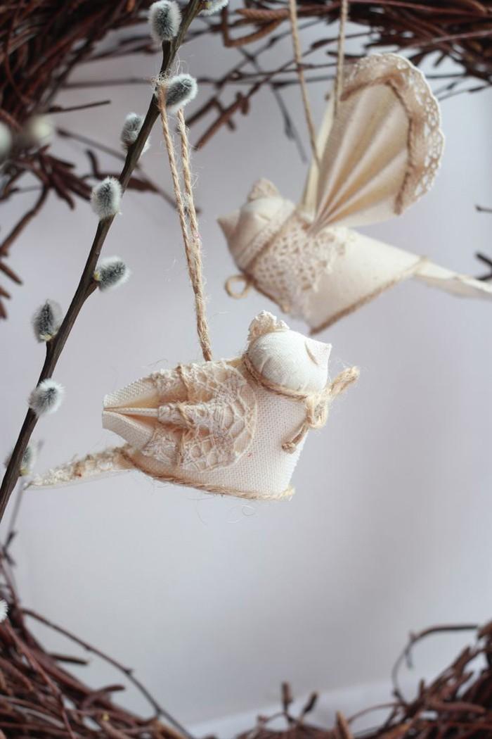 diy deko ideen aus stoff deko stoff dekorrieren mit filz stoff ideendeko vogel