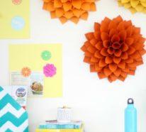 Zimmer Deko DIY – Frische Frühlingsdeko aus Papier basteln