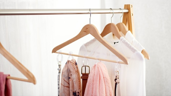 diy idee mit kleiderbügel