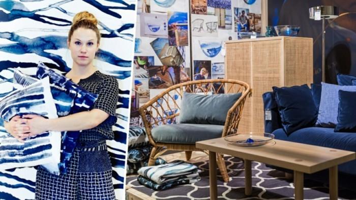 dunkelblau ikea stockholm kollektion 2017