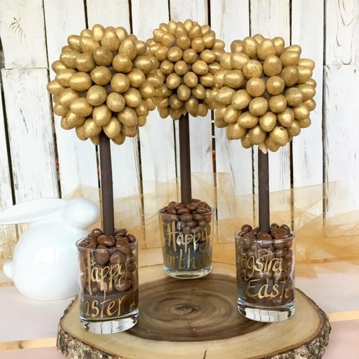 eine einzigartige goldene dekoration