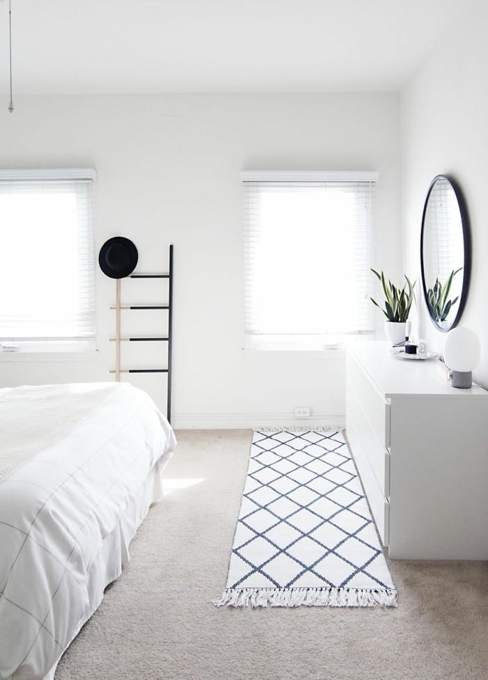 einrichtungsideen mit teppichen wohnideen für das schlafzimmer
