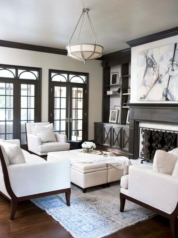 einrichtungsideen wohnideen wohnzimmer weiße möbel