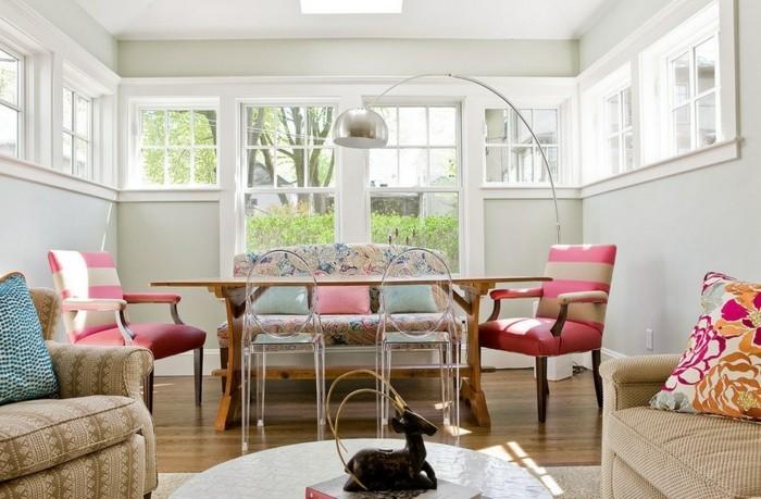 farben kombinieren muster wohnbereich gestalten