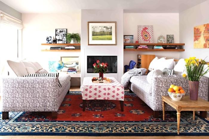 farbkombinationen die im wohnzimmer schön aussehen