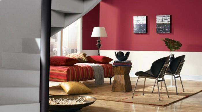 farbkombinationen im modernen wohnzimmer stilvoll und gemütlich