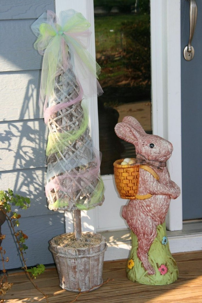 garten dekorieren ideen außenbereich lustig umwandeln