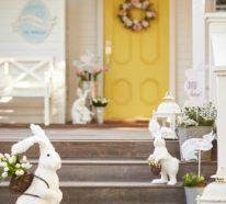 Garten dekorieren zu Ostern und fröhlich-festliche Stimmung verbreiten – 50 Osterdeko Ideen für den Garten