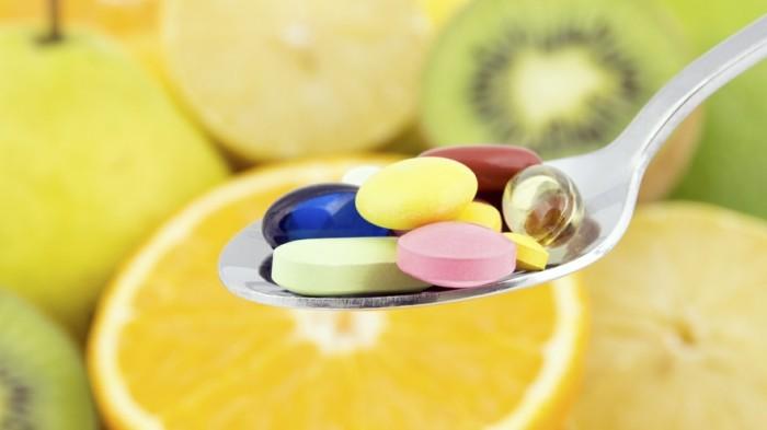 gesund leben und den organismus mit vitaminen versorgen