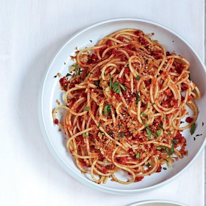 spagetti mandeln