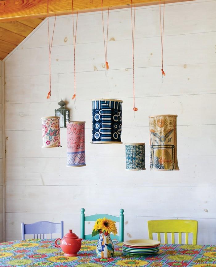 gobelin stickbilder kreative ideen deko ideen diy ideen anders denken aus alt macht neu bestickte lampen