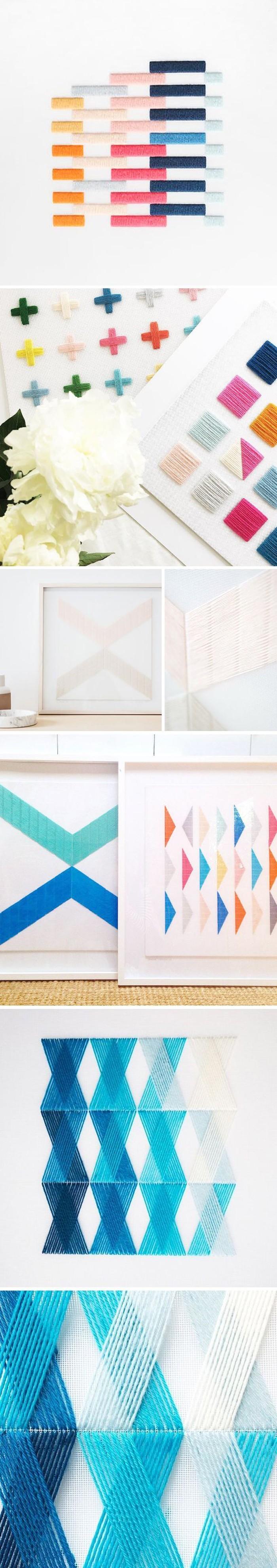 gobelin stickbilder kreative ideen deko ideen diy ideen anders denken aus alt macht neu farbmuster