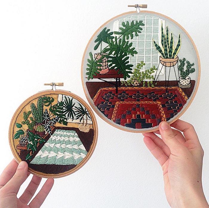 gobelin stickbilder kreative ideen deko ideen diy ideen anders denken aus alt macht neu junge designer sarra benning