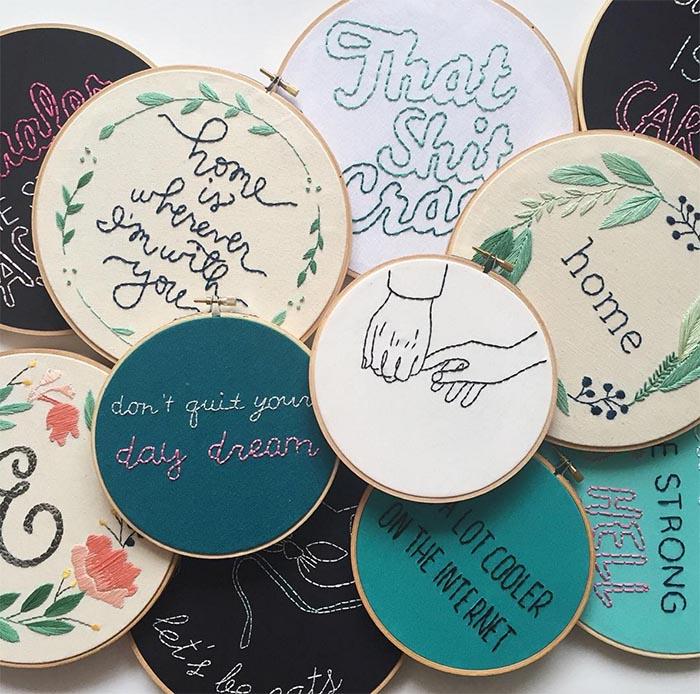 gobelin stickbilder kreative ideen deko ideen diy ideen anders denken aus alt macht neu junge designer threadhoney
