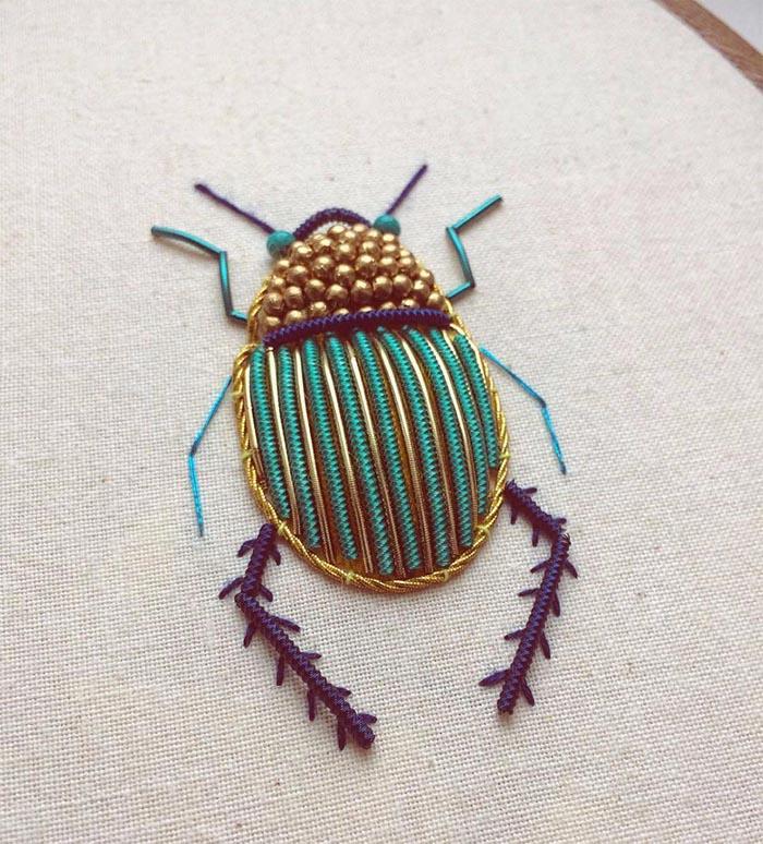 gobelin stickbilder kreative ideen deko ideen diy ideen anders denken aus alt macht neu käfer