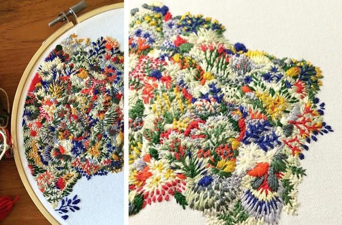 gobelin stickbilder kreative ideen deko ideen diy ideen anders denken aus alt macht neu textildesigner