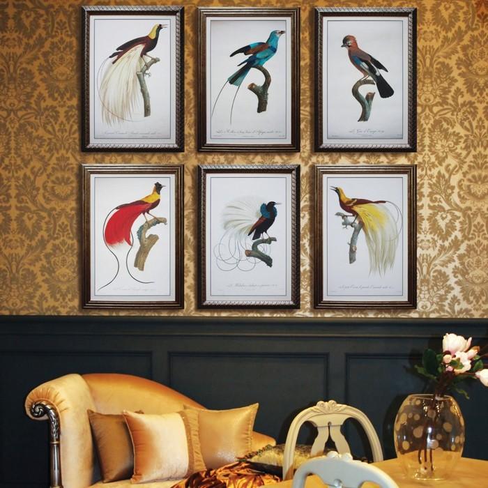 gobelin stickbilder kreative ideen deko ideen diy ideen anders denken aus alt macht neu vogeln
