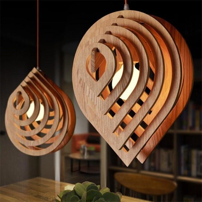holzlampe desogner lampe lampen design design-lampen wandlampe blatt