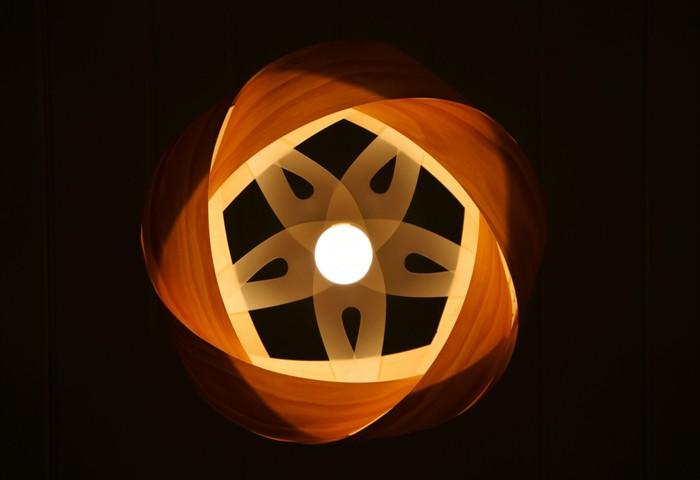 holzlampe desogner lampe lampen design design lampen wandlampe blumig