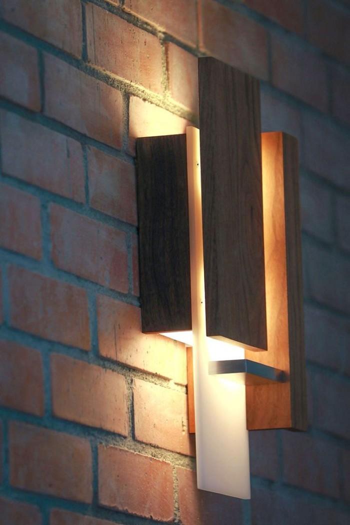 holzlampe desogner lampe lampen design design lampen wandlampe blumig wandleuchte