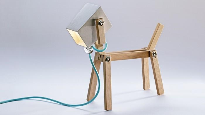 holzlampe desogner lampe lampen design design lampen wandlampe hund