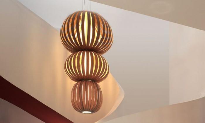 holzlampe desogner lampe lampen design design lampen wandlampe knonleuchter kreise