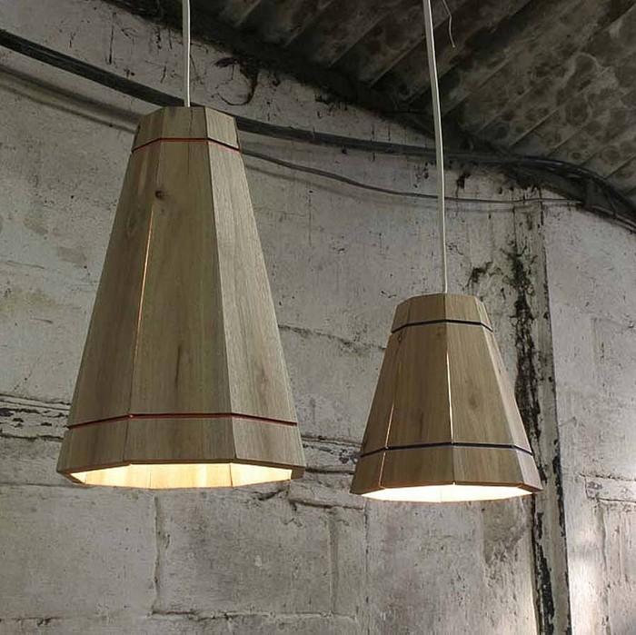 holzlampe desogner lampe lampen design design lampen wandlampe knonleuchter rustikal