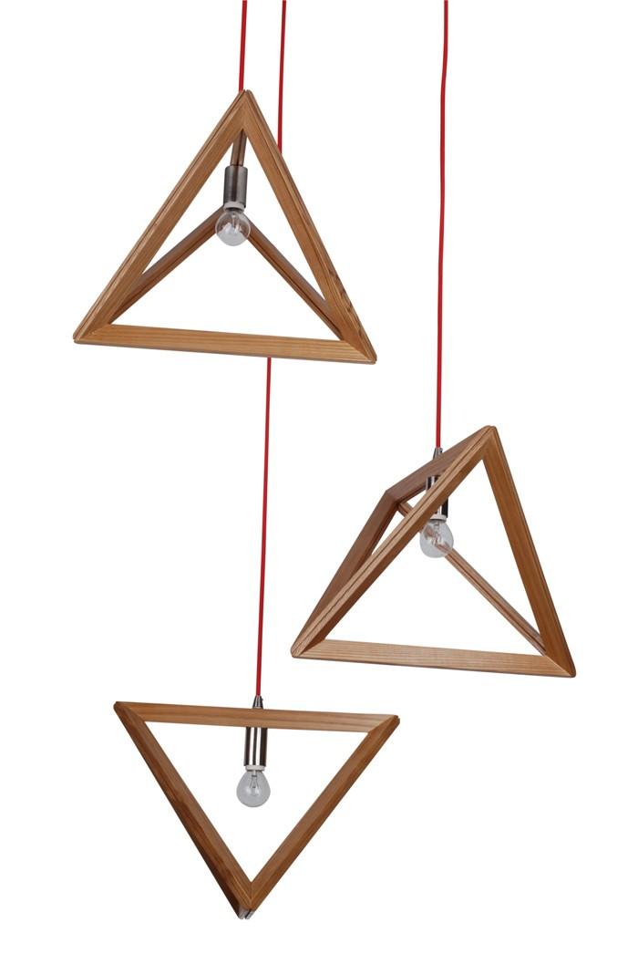 holzlampe desogner lampe lampen design design lampen wandlampe knonleuchter pyramide