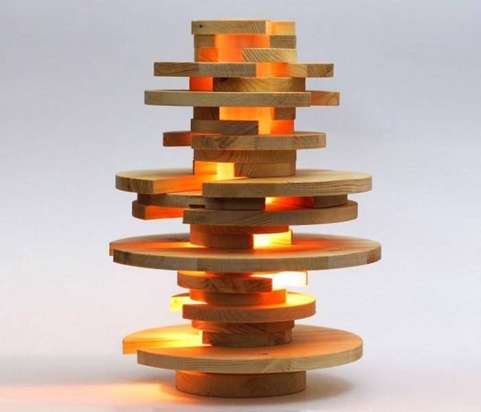 holzlampe desogner lampe lampen design design lampen wandlampe knonleuchter holzscheiben