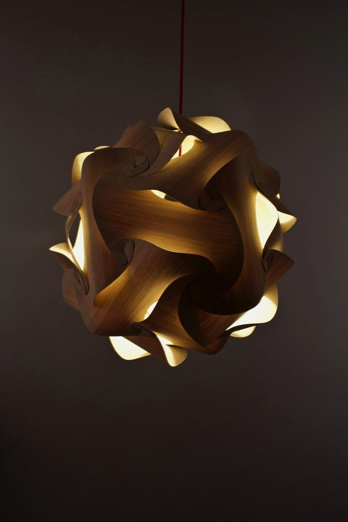 holzlampe desogner lampe lampen design design lampen wandlampe knonleuchter biegsam