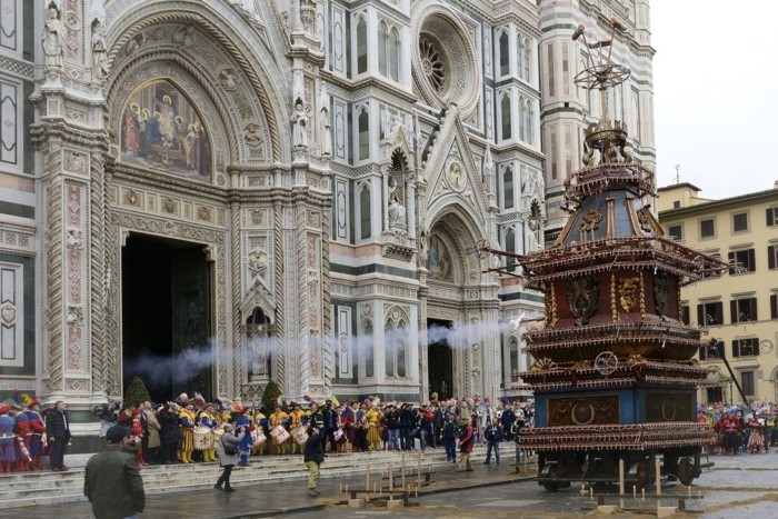 in Firenze feiert man richtig