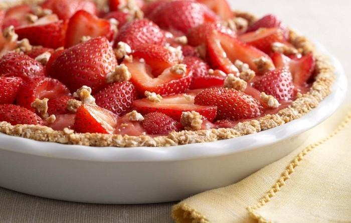 kuchen mit erdbeeren zubereitung