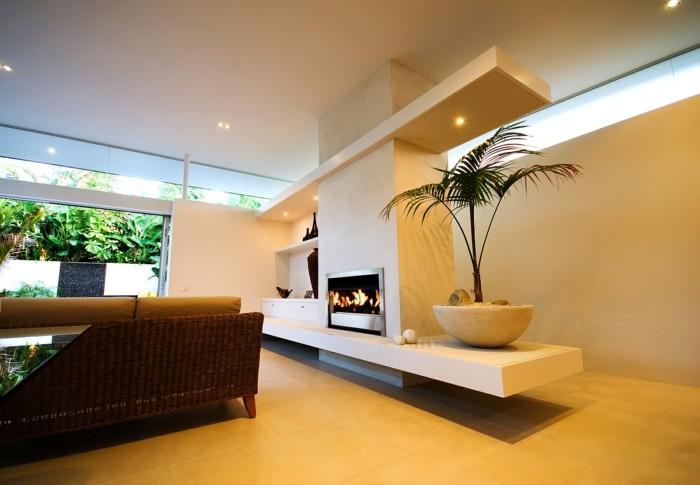 Die richtigen farbkombinationen f r den innenraum w hlen for Moderne wohnzimmerlampen