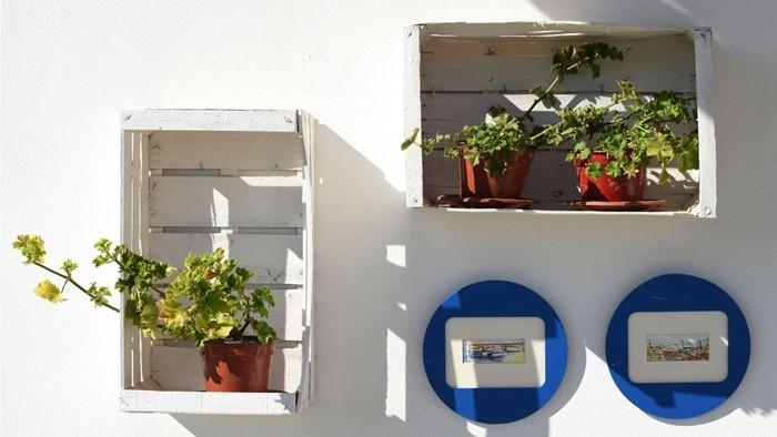 möbel aus weinkisten deko ideen diy ideen nachhaltig leben blumenkasten