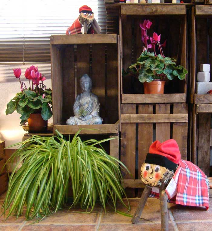 möbel aus weinkisten deko ideen diy ideen nachhaltig leben buddistisch