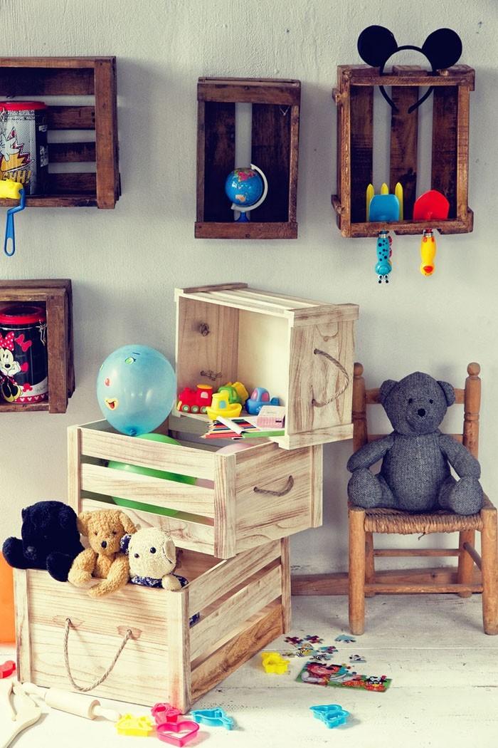 möbel aus weinkisten deko ideen diy ideen nachhaltig leben kinderzimmer2
