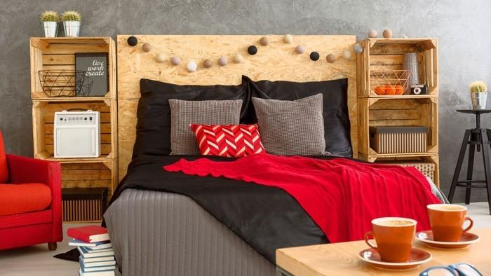 möbel aus weinkisten deko ideen diy ideen nachhaltig leben schlafzimmer