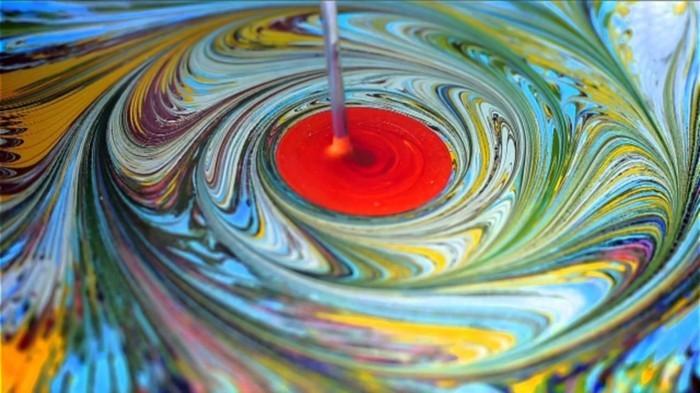 malen auf wasser kunst